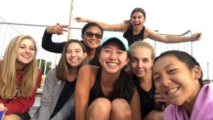 Varsity Tennis Fall 2018
