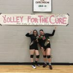 Elms Volleyball Team Honors Seniors