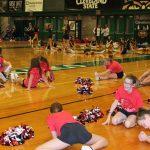 RHS/RMS Cheer at Cavs Cheer Camp