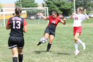 RHS Girls Soccer vs Norwayne pt 2