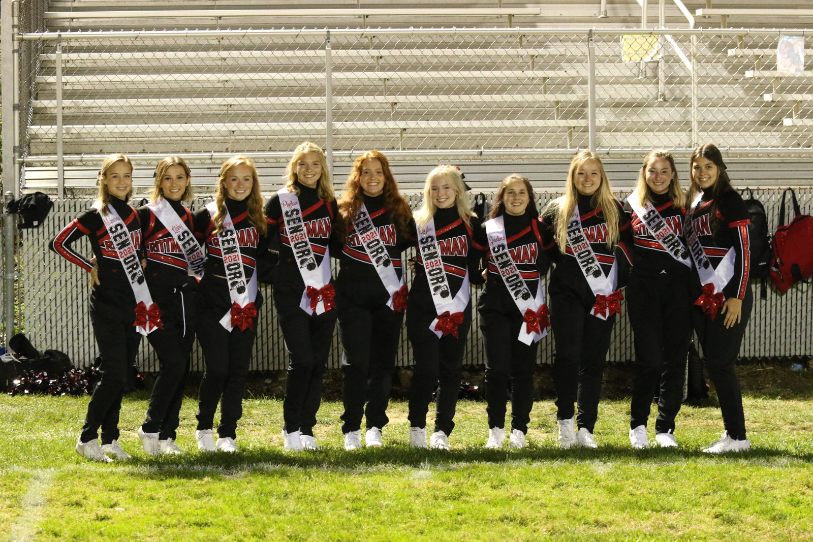RHS Football Senior Night  (Cheer and Football)