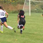 Girls Middle School Soccer ties Waynesburg
