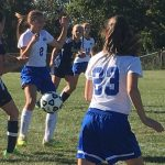 Girls Middle School Soccer falls to Canon Mac 1-0