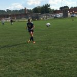 Girls Middle School Soccer falls to Chartiers Valley  2-1