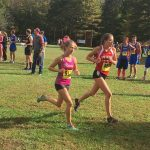 Girls Cross Country finishes 2nd place at Mingo Classic