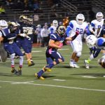 Football beats Trinity on Senior Night