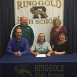 Warner Signs with Slippery Rock