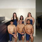 Boys Swimming beats South Park on Senior Night