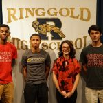 Four Track Stand-outs Sign Letters of Intent