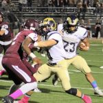 Football dominates Uniontown 55-19, moves to 3-3