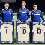 Boys Soccer beats Trinity on Senior Night