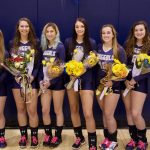 Volleyball falls to Trinity on Senior Night