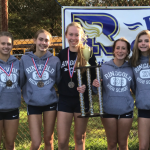 Girls Cross Country finishes 1st place in Washington County Meet