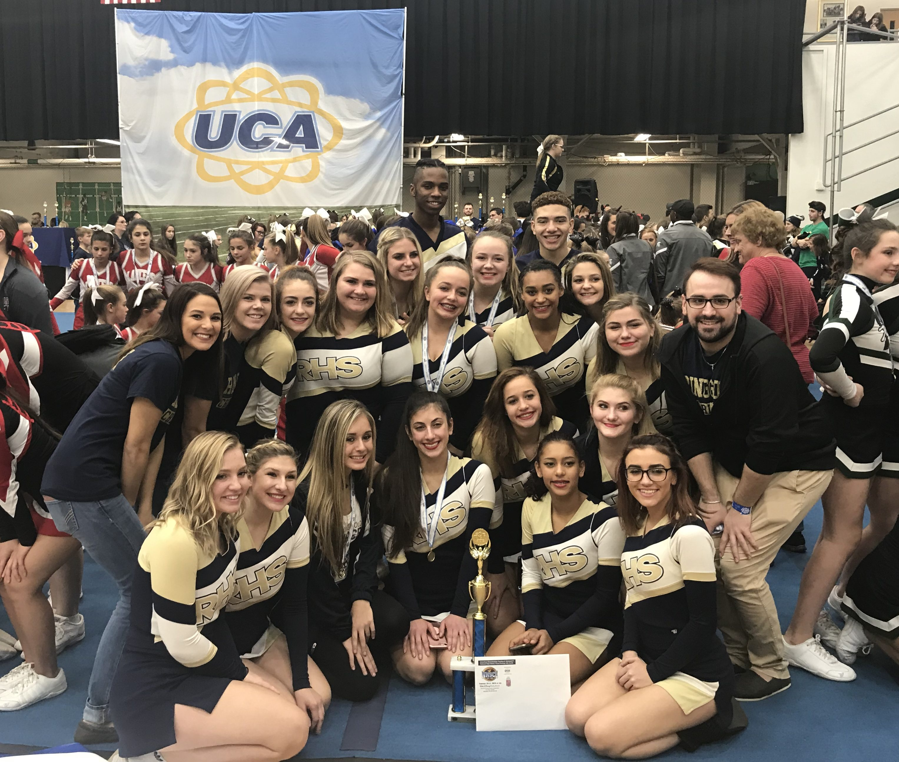 Competitive Spirit takes 2nd Place at Slippery Rock