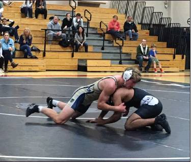 Wrestling falls to Upper St. Clair 51 – 9