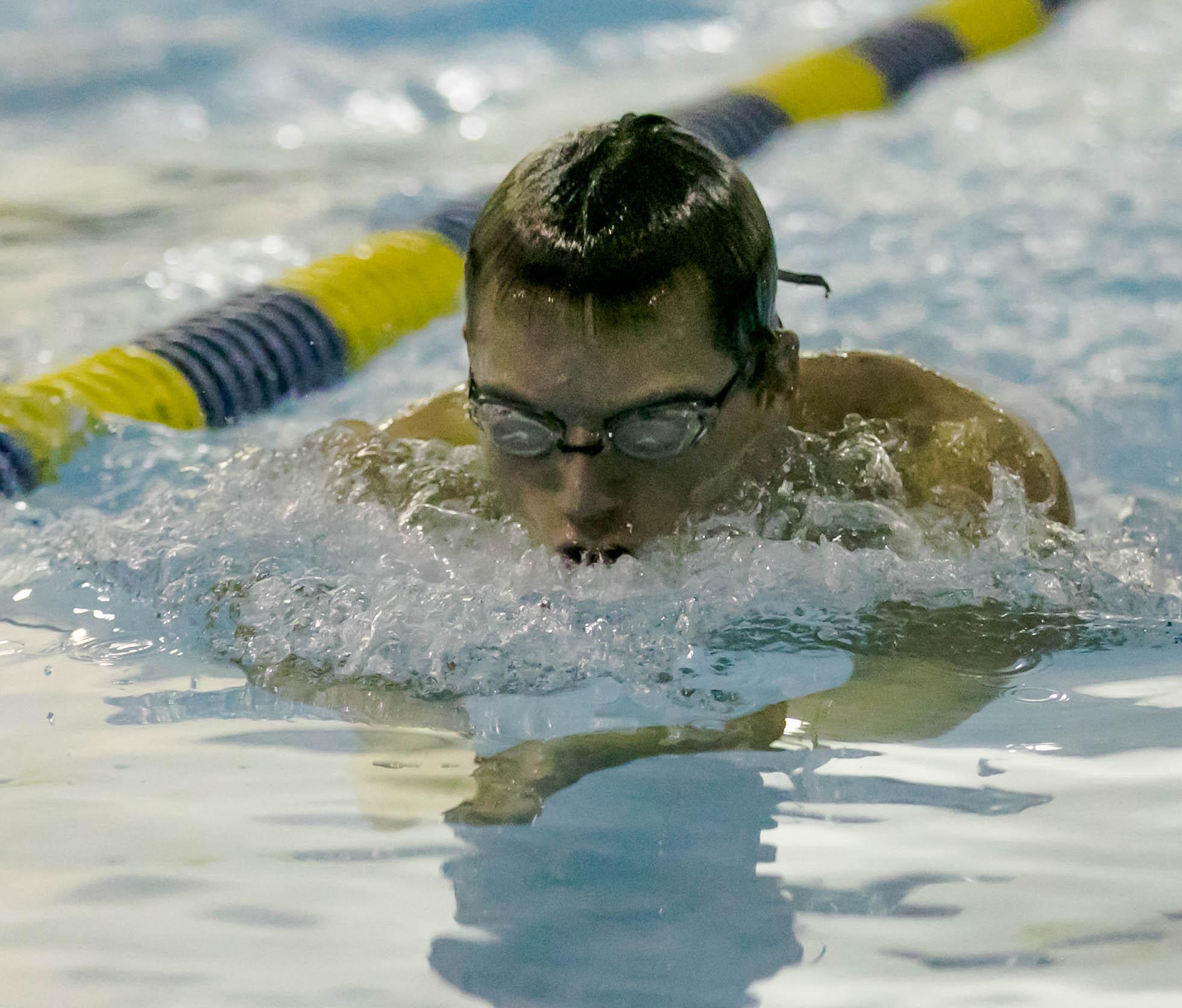 Boys Swimming falls to Elizabeth Forward 118 – 61