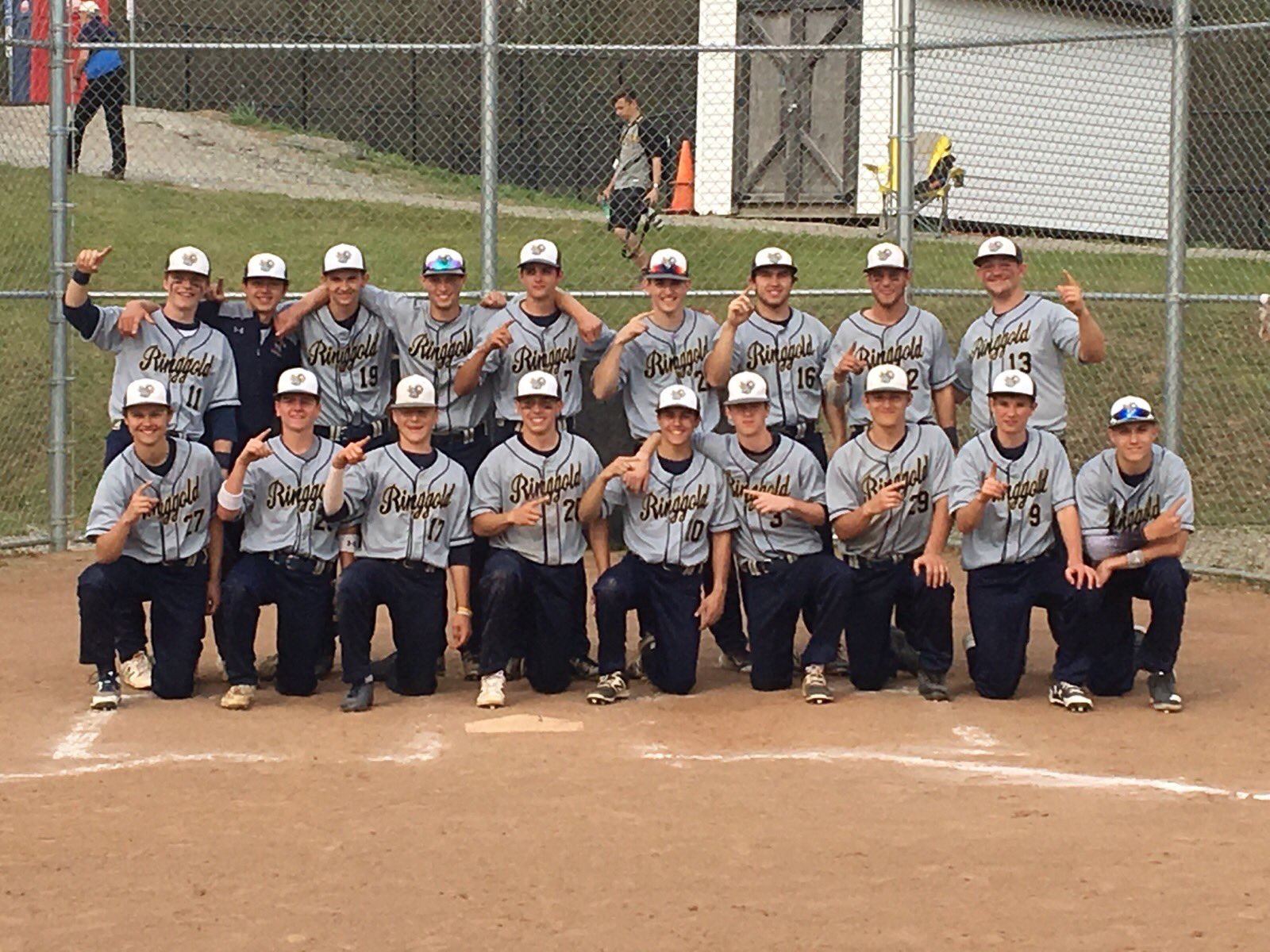 Baseball beats McGuffey, wins Section 3-4A Title