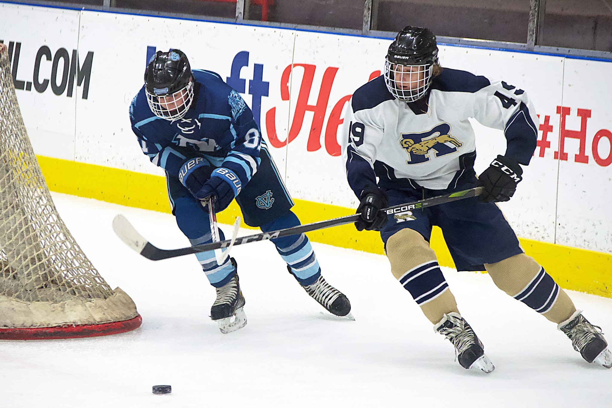 Hockey falls to Central Valley 5 – 3