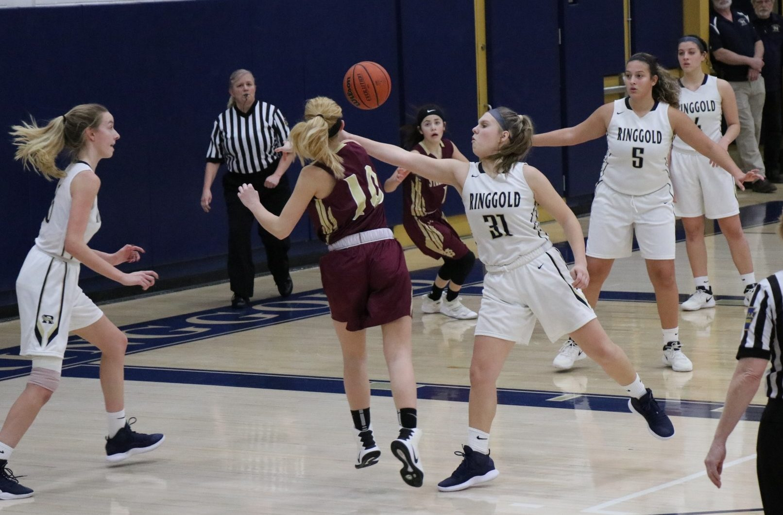 Girls Basketball gets back on track, beats Steel Valley 54 – 31