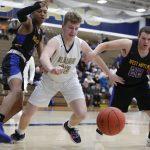 Boys Basketball closes regular season with loss to West Mifflin 65 – 60
