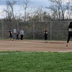 Middle School Softball drops home game against Harrison