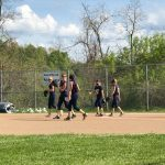 Temoshenka's walk-off secures victory for Middle School Softball