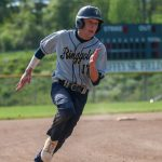 Baseball crushes Uniontown, clinches share of section title