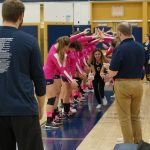 Volleyball Pink Out vs. Keystone Oaks