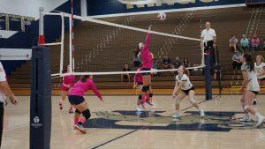 Volleyball Pink Out vs. Keystone Oaks