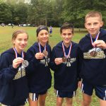 Four finish in Top 10 for Middle School Cross Country