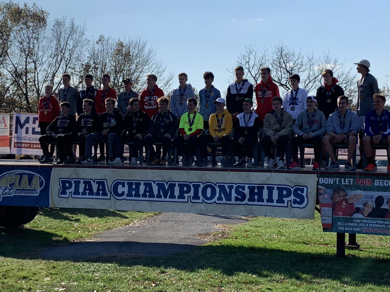 Rams Cross Country competes at PIAA Championships