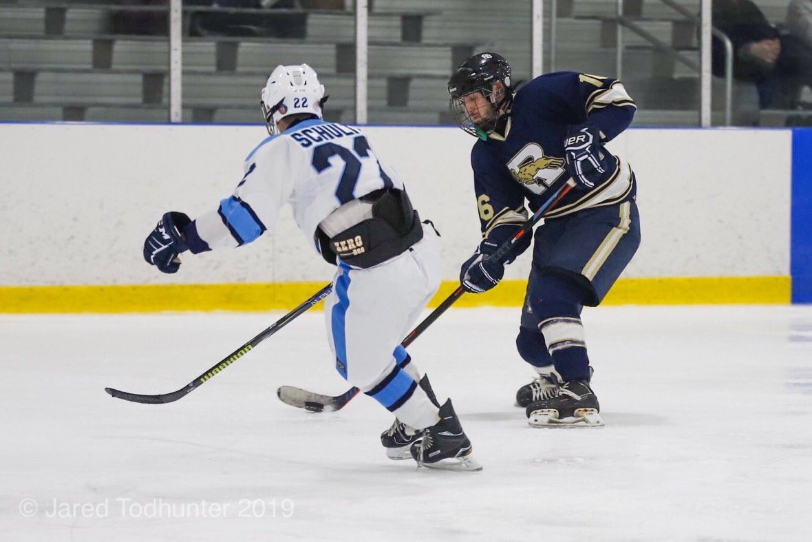 Hockey remains undefeated, beats Burrell 12 – 4