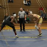 Wrestling just misses in loss to Upper Saint Clair 41 – 27