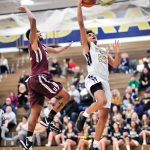 Boys Basketball falls apart late, drops section game to Uniontown 71 – 62