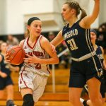 Girls Basketball can't get over the hump in loss at Elizabeth Forward