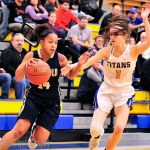 Girls Basketball comes up short at West Mifflin  37 – 32