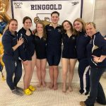 Boys Swimming & Diving comes out on top against McKeesport