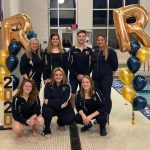 Girls Swimming & Diving beats McKeesport on Senior Night