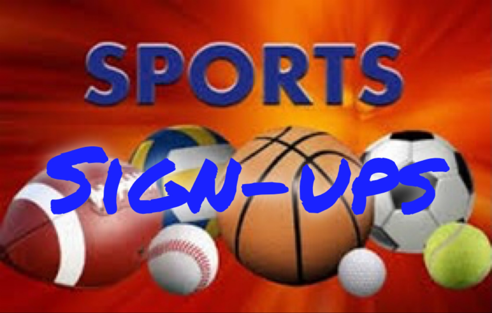 2021 Ringgold Spring Sports Sign-ups!
