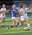 Girls Soccer falls to first-place Connellsville