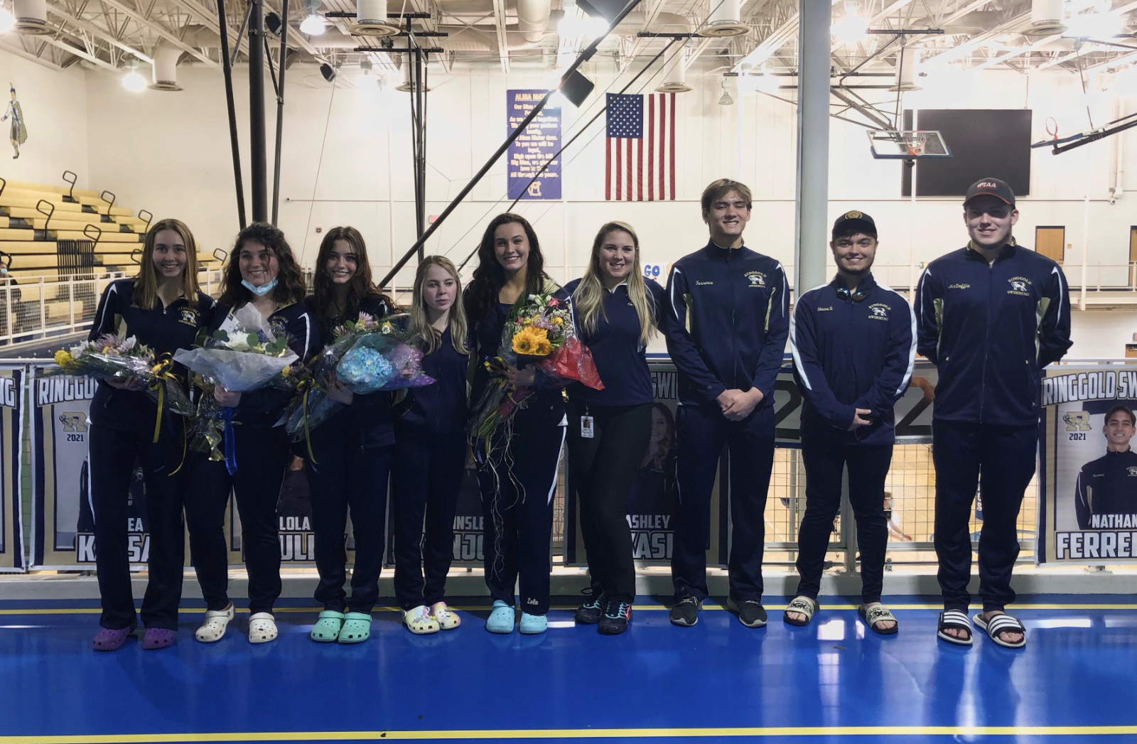 "Swimming & Diving ""hosts"" Senior Night at Canon McMillan"