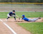 Varsity Baseball drops section opener to Laurel Highlands