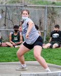 Girls Track splits section meet with Uniontown and Belle Vernon