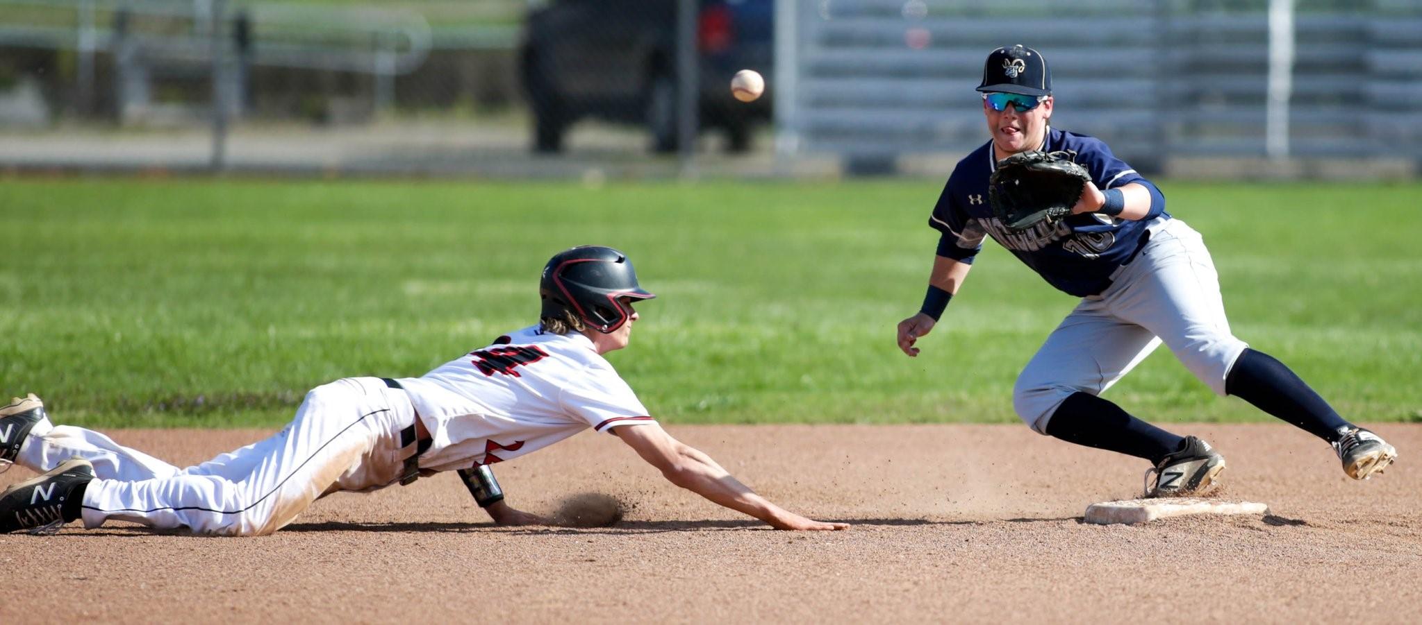 Baseball gets sweep over Elizabeth Forward