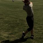 Golfer Angel Greer Competes in 30-40 mph Winds