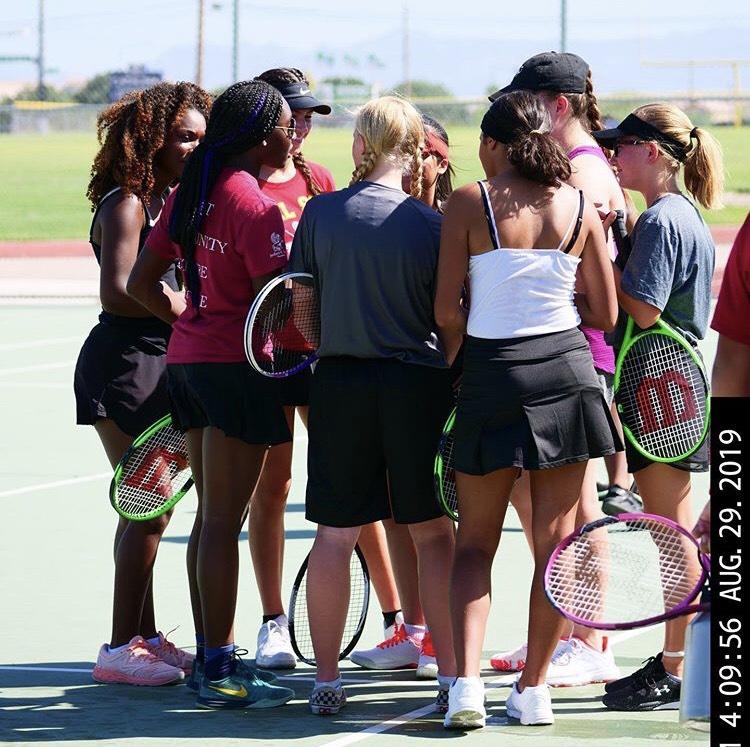 DSA Tennis Strives for Prosperous Season