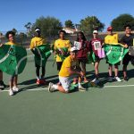 DSA Tennis Battles Hard for Senior Night