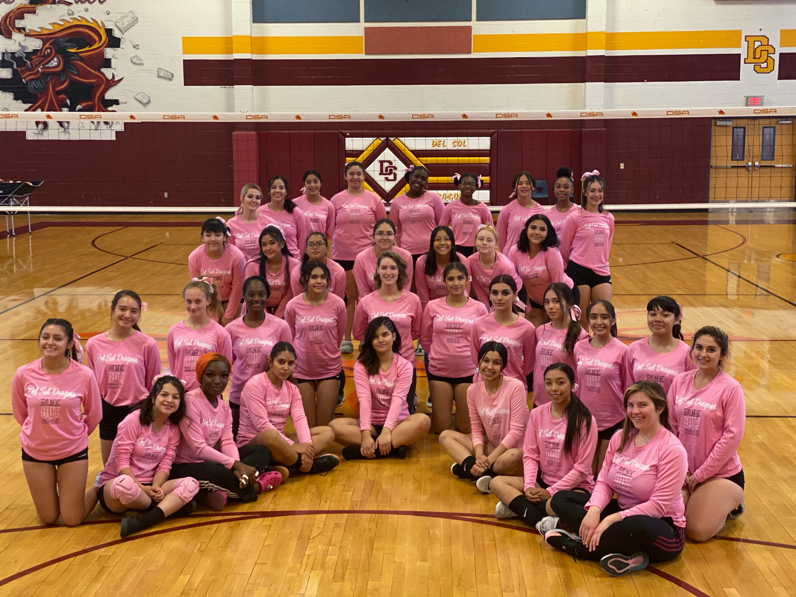 Girl's Volleyball Improved in Their 2019 Season Despite the Failure to Meet Goals