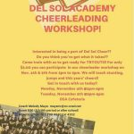 DSA Cheerleading Workshop!
