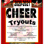 Come Tryout for the Cheer Team!